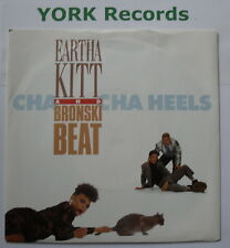 "EARTHA KITT & BRONSKI BEAT - Cha Cha Heels - Ex Con 7"" Single Arista 112 331"