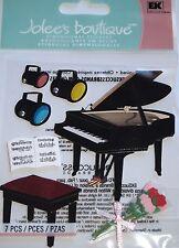 Jolee's Boutique Piano Recital Music Scrapbook Craft Stickers Embellishment