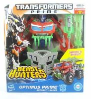 TRANSFORMERS Prime Beast Hunters Voyager Class Optimus Prime Action Figure NEW