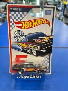 2017 Hot Wheels Racing Circuit 1969 Pontiac GTO - No. 5 / 10 Long Card