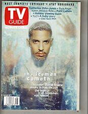 DAVID BLAINE MAGIC Large TV Guide 11/25/00 CATHERINE ZETA JONES JESSCIA ALBA PC