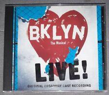 Brooklyn The Musical Live Cd