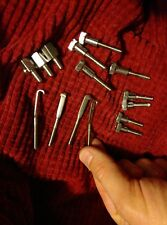15 piece BANJO PARTS LOT NEW SCREWS NUTS J HOOKS FREE USA SHIPPING