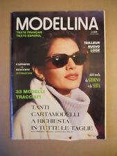 MODELLINA n°93 - Autunno Inverno 1994-1995 con cartamodelli  [G591]