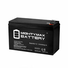 Mighty Max ML8-12 - 12V 8AH Replacement for SeaDoo Seascooter Dolphin SD5542