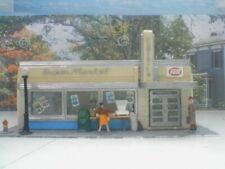 HO scale Super Market IGA Plasticville Painted detailed w/light