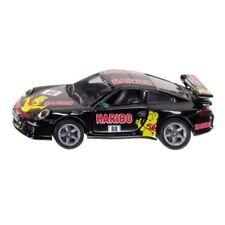 Voitures de courses miniatures noirs en acier embouti pour Porsche