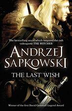 The Last Wish de Andrzej Sapkowski (Witcher) NUEVO LIBRO BOLSILLO 9780575082441