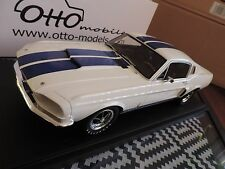 Ford Mustang Shelby GT500 blanche 1967 1/12 OTTO OTTOMOBILE OTTOMODELS
