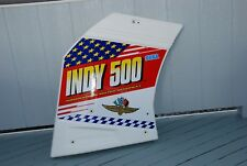SEGA INDY 500 DECORATIVE PANEL FOR LEFT SIDE OF SITDOWN ARCADE GAME