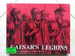 Caesar's Legions boardgame Avalon Hill vintage regolamento italiano completo '75