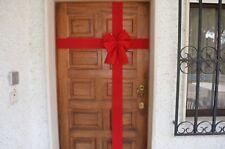 Dekoschleife, Einweihung, Eröffnung, Fertigschleife, rote Schleife Haustür