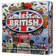 Drumond Park The Best of British Logo Board Game 100 Complete VGC