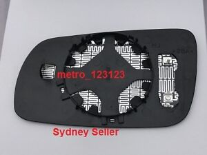 RIGHT DRIVER SIDE MIRROR GLASS FOR AUDI A6 S6 1998 - 2003