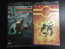 Miracleman #15 Tim Sale Variant & Sienkiewicz Variant lot Sealed NM never opened