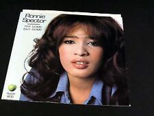 45 Picture Sleeve Only RONNIE SPECTOR Try Some, Buy Some / Tandori Chicken APPLE