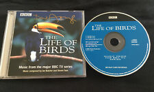 BBC THE LIFE OF BIRDS SOUNDTRACK **HAND SIGNED** BY DAVID ATTENBOROUGH