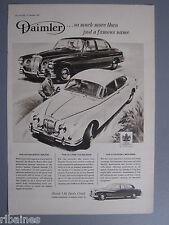 R&L Ex-Mag Advert: Daimler Majestic Major/Triplex Safety Glass Vauxhall Cresta