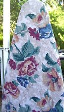 Custom Ironing Board Cover Full Size Floral Print Lined Reversible!