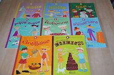 lot 8 livres série Gaspard et Léonie - les p'tits gourmands en cuisine - Atlas