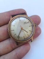 RARE Vintage MATY ANTICHOC  WATCH 17 JEWELS handwind watch for spare