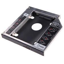2nd SATA HDD Festplatten Caddy Einbau Rahmen Adapter 12,7mm Laptop Zubehör