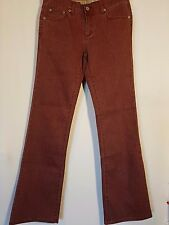 "WOMEN'S JEANS BUFFALO - DAVID BITTON BOOTCUT SIZE 11 LEG 33"" NEW FREE POSTAGE"