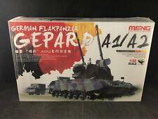 Meng German Flakpanzer Gepard A1/A2 Anti-Aircraft Gun 1:35 SC Model Kit TS-030