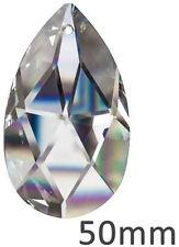 Kristall Facette Pendel 50mm Lampen Ersatzteil SPECTRA CRYSTAL von Swarovski