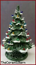 """Vintage Style Ceramic Christmas Tree - Ceramic Christmas Tree 17"""" tall with Snow"""