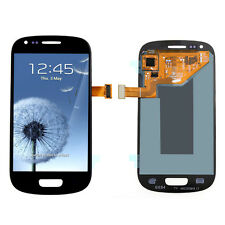 Blue Complete LCD Touch Digitizer Glass Screen For Samsung Galaxy S3 Mini i8190