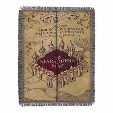 Harry Potter Marauder's Map Tapestry Throw Blanket