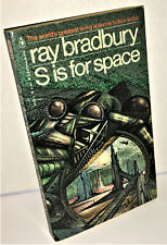 S IS FOR SPACE by Ray Bradbury Bantam Books 1979 Paperback Story Collection
