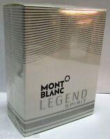Mont Blanc Legend Spirit 3.3 oz - 3.4 oz/ 100ml Eau De Toilette For Men *Sealed*