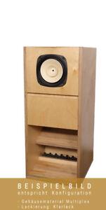 AOS BK 206 Lautsprecherbausatz mit Holzzuschnitt MDF inkl. Korrektur  - 1 STÜCK