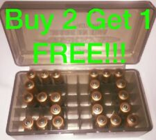 AAA Battery Box BUY 2 GET 1 Plastic Storage Holder Container Holds 50 Batteries