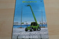 127595) merlo panoramic Evolution p 40.8 EVs folleto 07/1999