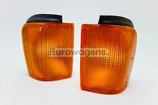 VW Scirocco MK2 82-92 Orange Front Indicators Repeaters Set Pair Left Right