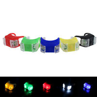 LED Bicycle Cycling Bike Front Rear Tail Helmet Light Safety Warning Lamp HR