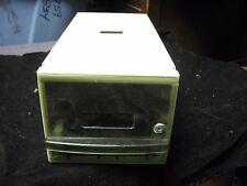 "Vintage Pengo Floppy Diskette Disk File Holder Tray Case Storage Box 13.5""X 6.5"""