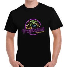 Mens Club Tropicana T-Shirt - 80s Fancy Dress Disco Party Music Wham Pride