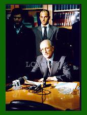 FOTOGRAFIA PRESS '94 FRANCESCO SAVERIO BORRELLI CONFERENZA DIMISSIONI DI PIETRO