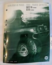 2003 BOMBARDIER ATV QUEST 90 & DS 90, 4 STROKES PARTS MANUAL