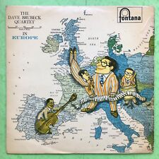 The Dave Brubeck Quartet In Europe - Fontana TFL-5034 VG Condition