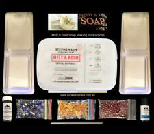 SOAP MAKING KIT - Choice of goats milk, or clear soap base & fragrance oil