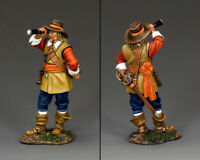 KING & COUNTRY PIKE & MUSKET PNM018 PARLIAMENTARY ARTILLERY OFFICER
