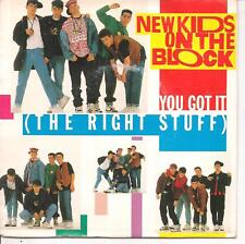 "45 TOURS / 7"" SINGLE--NEW KIDS ON THE BLOCK--YOU GOT IT / REMIX--1988"