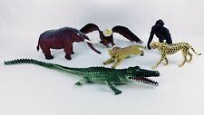 Plastic Toy Animals China Imperial Crocadile Elephant Tigers Bear Eagle
