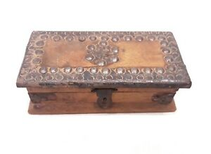 Vintage Look Beautiful Handmade Wooden - Box - Handicraft Jewellery Storage Box