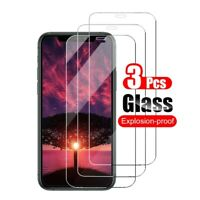 3x For iPhone 12 Pro Max Mini 11 X XR XS 8 7/6S Tempered Glass Screen Protector